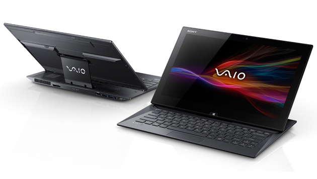 Futuristisches Multitalent mit Stift: Sony Vaio Duo 13 (Bild: Sony)