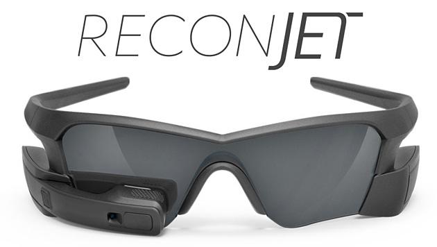 Computerbrille aus Kanada speziell für Radfahrer (Bild: Screenshot Recon Instruments)