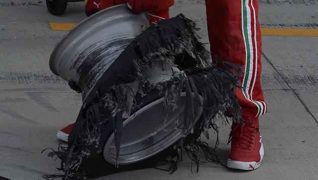 F1-Piloten erwägen Streik bei Rennen am Nürburgring (Bild: AP)