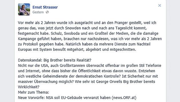 Strasser sieht sich als österreichischer Snowden (Bild: facebook.com)