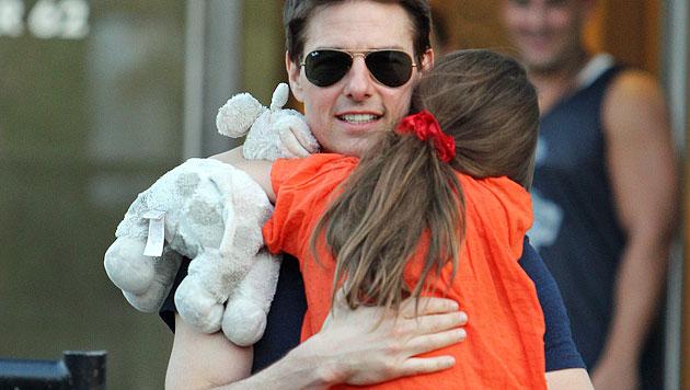 """Tom Cruise: """"Ich habe Suri nie im Stich gelassen"""" (Bild: AP)"""