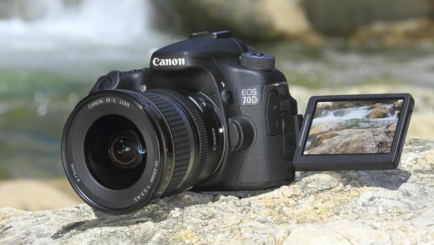 Canons Autofokus-Künstler EOS 70D kommt im August (Bild: Canon)