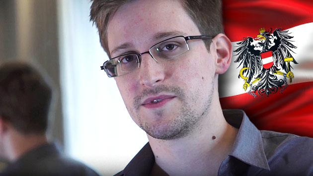 Innenministerin: Snowden hat auch in Ö Asyl beantragt (Bild: GUARDIAN/GLENN GREENWALD/LAURA POITRAS, krone.at-Grafik)