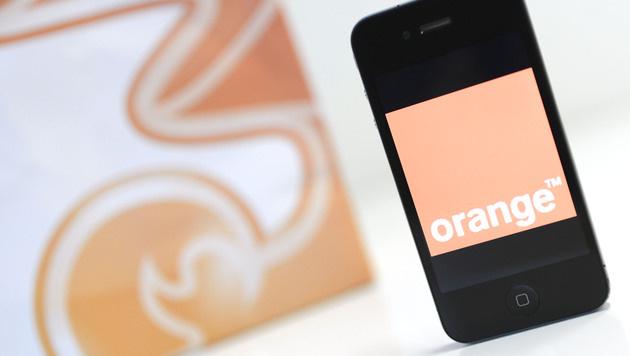 """Neuer Firmenname: Aus Orange und """"3"""" wird """"Drei"""" (Bild: APA/HELMUT FOHRINGER)"""