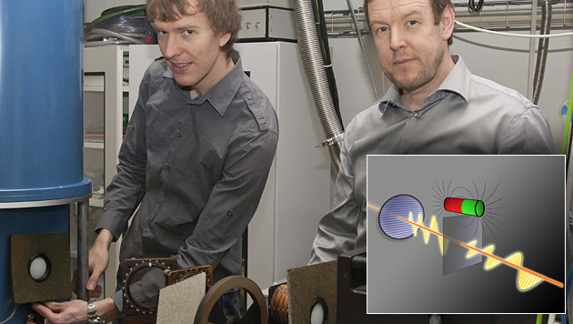 Wiener Forscher entwickeln Licht-Transistor (Bild: TU Wien)