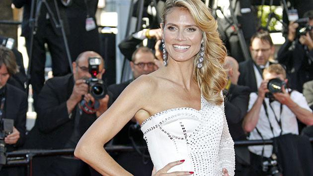 Heidi Klum: Dieser Look schockt selbst ihre Fans (Bild: EPA)