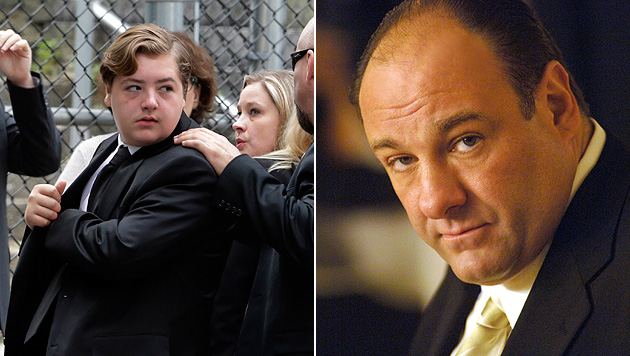 Gandolfini-Sohn  Michael (13) erbt Millionenvermögen (Bild: AP)