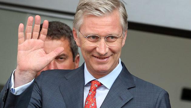 """Kronprinz Philippe: Der Verantwortung """"sehr bewusst"""" (Bild: EPA)"""