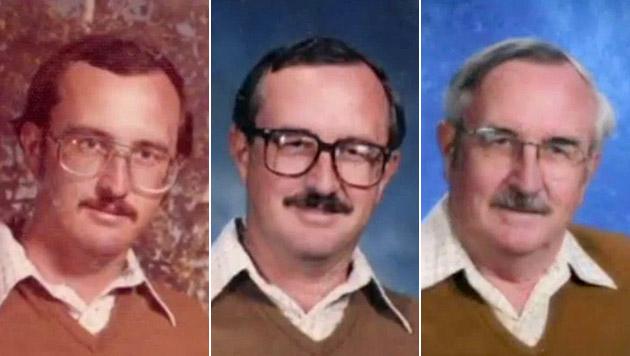 Lehrer trug 40 Jahre dasselbe Outfit fürs Schuljahrbuch-Foto (Bild: Zoom.in)