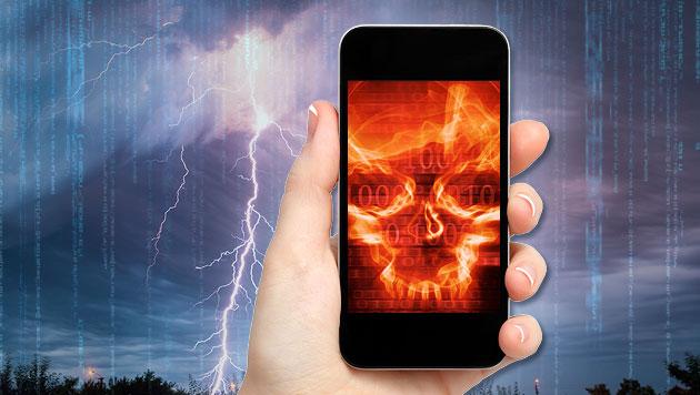 Viren-Millionenheer hat es auf Android abgesehen (Bild: thinkstockphotos.de, krone.at-Grafik (Symbolbild))