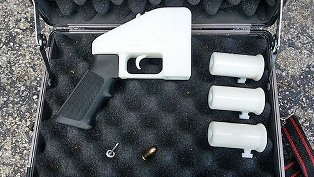 3D-Druck-Pistole in Israels Parlament geschmuggelt (Bild: defdist.tumblr.com)