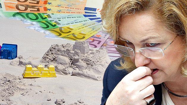 Budgetsanierung: Milliardenfalle für Finanzministerin (Bild: thinkstockphotos.de, APA/GEORG HOCHMUTH, krone.at-Grafik)