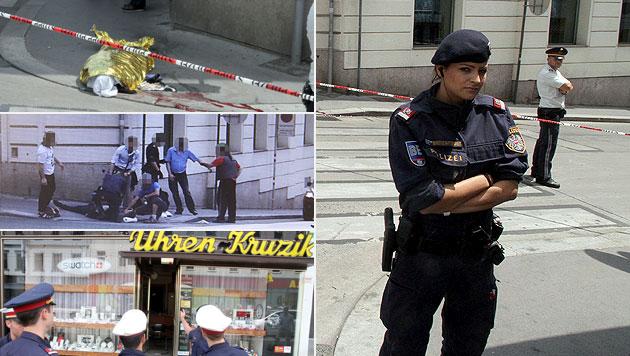 Juwelier erschoss Räuber: Es war Notwehr (Bild: ANDI SCHIEL)
