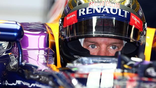Tagesbestzeit von Red-Bull-Pilot Sebastian Vettel (Bild: EPA)