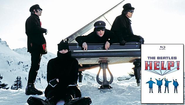 "Beatles-Film ""Help!"" gibt""s jetzt auch auf Blu-ray (Bild: Subfilms Ltd./Bruce A. Karsh, Universal Music)"