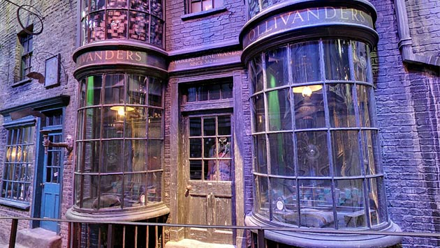 Google lädt Harry-Potter-Fans in die Winkelgasse (Bild: Screenshot Street View)