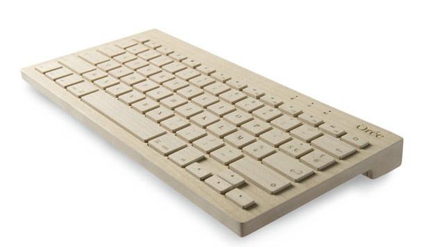 Holztastatur soll Wärme in IT-Alltag bringen (Bild: oreedesign.com)