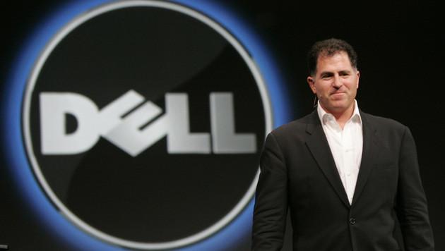 Michael Dell kann sein Lebenswerk von Börse nehmen (Bild: AP)