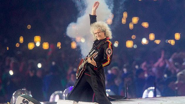 Queen-Gitarrist Brian May feiert 70. Geburtstag (Bild: APA/EXPA/Johann Groder)