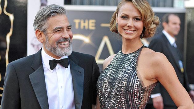 Liebes-Wirrwarr um George Clooney und Stacy Keibler (Bild: AP)