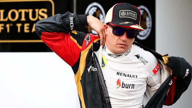 Lotus zahlte Kimi Räikkönen endlich sein Gehalt (Bild: EPA)