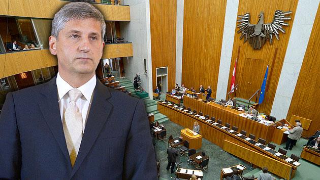 Minister: ÖVP für Parlaments-Hearing vor Amtsantritt (Bild: APA/ROLAND SCHLAGER, krone.at-Grafik)