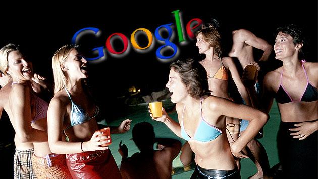 Praktikanten bei Google terrorisieren ihre Nachbarschaft (Bild: thinkstockphotos.de, Google, krone.at-Grafik)