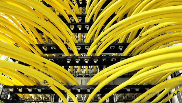 Vodafone: Netz wird mit Geheimkabeln angezapft (Bild: Matthias Balk/dpa)
