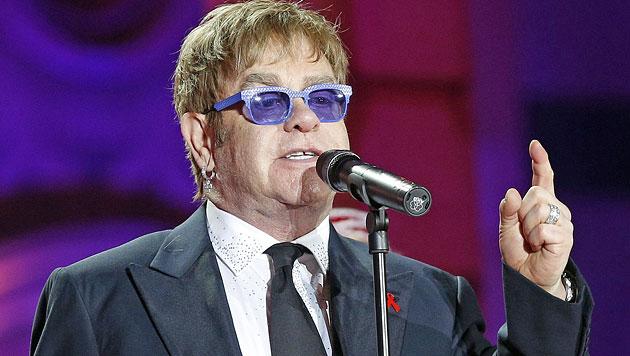 """Elton John ist """"froh, noch am Leben zu sein"""" (Bild: APA/Georg Hochmuth)"""