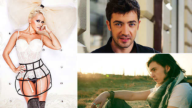 Global Rockstar vereint Talente aus der ganzen Welt (Bild: Kasia Baginska, Arsenie official, Anda Adam official)