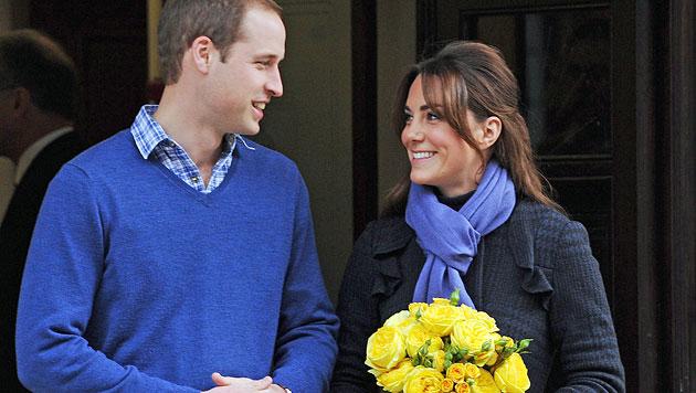 William und Kate: Revolution im Kinderzimmer? (Bild: EPA)