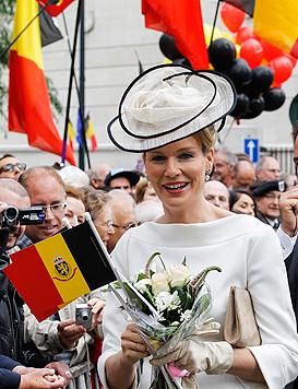 Prinzessin Mathilde: Sie wird Belgiens neue Königin (Bild: EPA, AP)