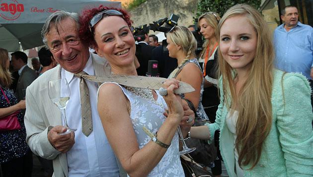 Richard Lugner: Kreislaufkollaps bei Opern-Premiere (Bild: Peter Tomschi)