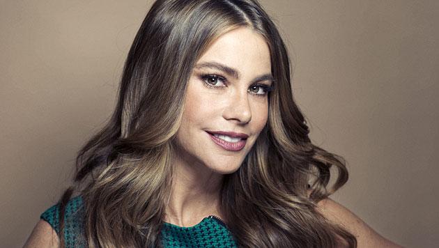 Sofia Vergara würde niemals auf Make-up verzichten (Bild: AP)