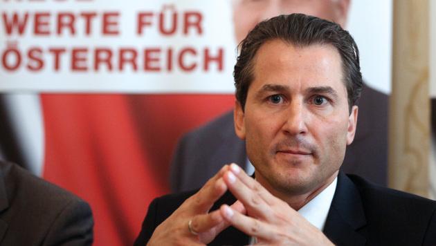 """Team Stronach peilt bei Wahlen """"15 Prozent plus"""" an (Bild: APA/GEORG HOCHMUTH)"""