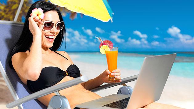 Urlaubsplanung für die digitalen Lieblinge (Bild: thinkstockphotos.de)