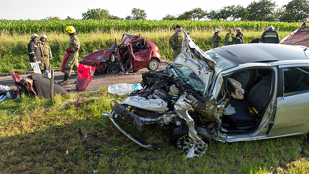 Lenker verursacht tödlichen Autounfall und flüchtet (Bild: APA/WERNER KERSCHBAUMMAYR)