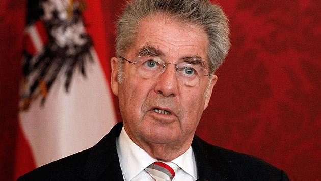 """""""Menschen & Mächte"""" zum Abschied bei Heinz Fischer (Bild: AP)"""