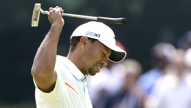 Tiger Woods erstmals seit 1996 nicht in Top 100 (Bild: AP)