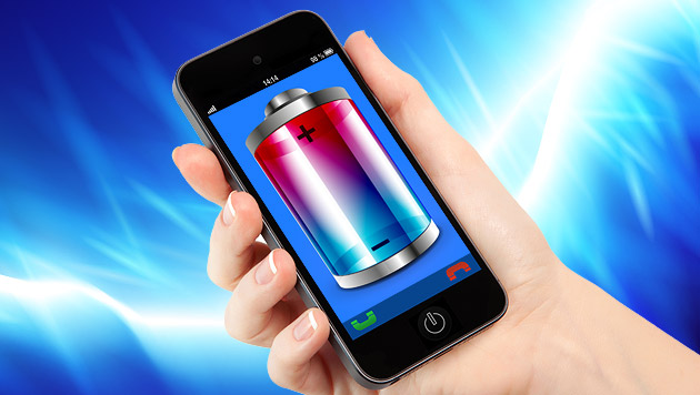 Nanodraht-Akkus lassen Handys 40 Mal länger leben (Bild: thinkstockphotos.de, krone.at-Grafik)