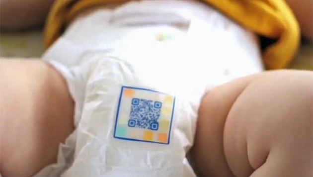 """""""Smart Diaper"""" analysiert Baby-Urin auf Krankheiten (Bild: Screenshot YouTube)"""