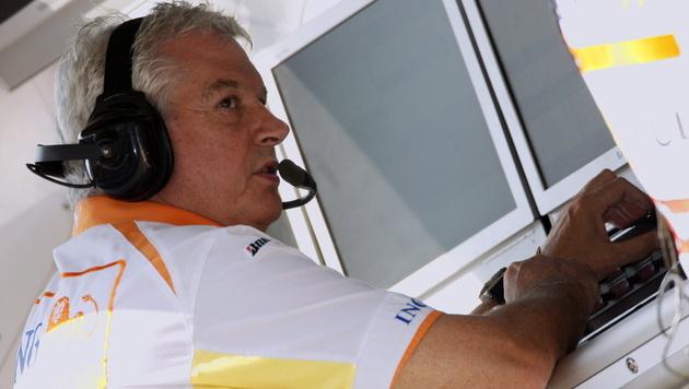 Der umstrittene Pat Symonds kehrt in die Formel 1 zurück (Bild: EPA)