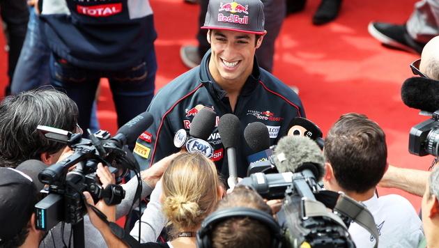 Red-Bull-Rennstall bittet Ricciardo zur Testfahrt (Bild: EPA)
