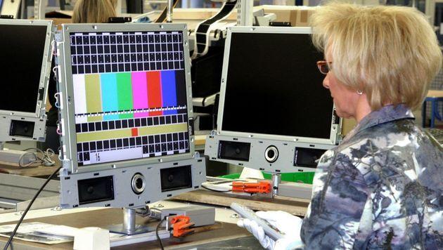 TV-Hersteller Loewe stellt Insolvenz-Antrag (Bild: EPA)