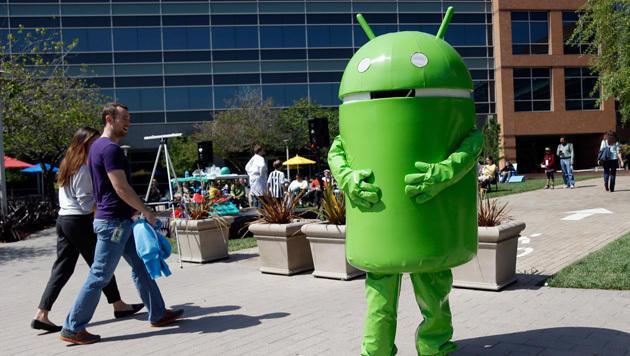 Aktuelles Android bald Pflicht für Handyhersteller (Bild: AP)