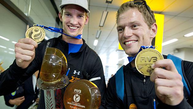 Brouwer/Meeuwsen - die fliegenden Holländer der Tour (Bild: AFP)