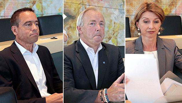 Ktn: Ex-Landesräte streiten Beteiligung an Deal ab (Bild: APA/GERT EGGENBERGER)