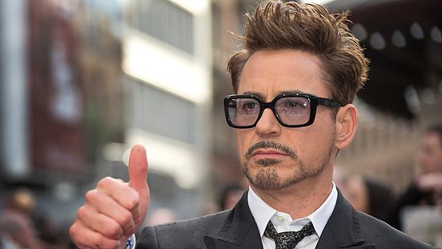 Robert Downey Jr. ist der wertvollste Star (Bild: AP)