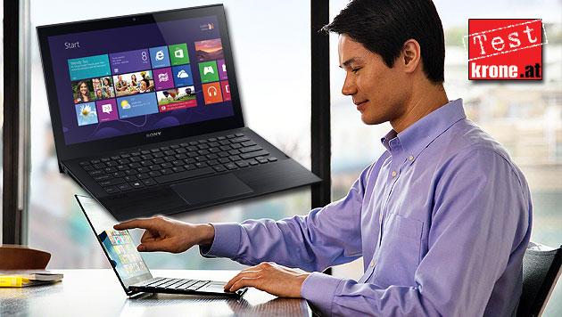 Sony Vaio Pro: Das Macbook Air der Windows-Fraktion? (Bild: Sony, krone.at-Grafik)