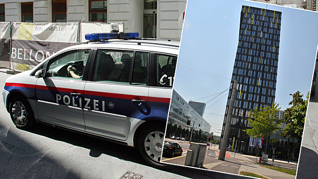 OÖ: Seniorin in Not wirft Steine von Hochhaus in Linz (Bild: Horst Einöder, Andi Schiel (symbolbild))
